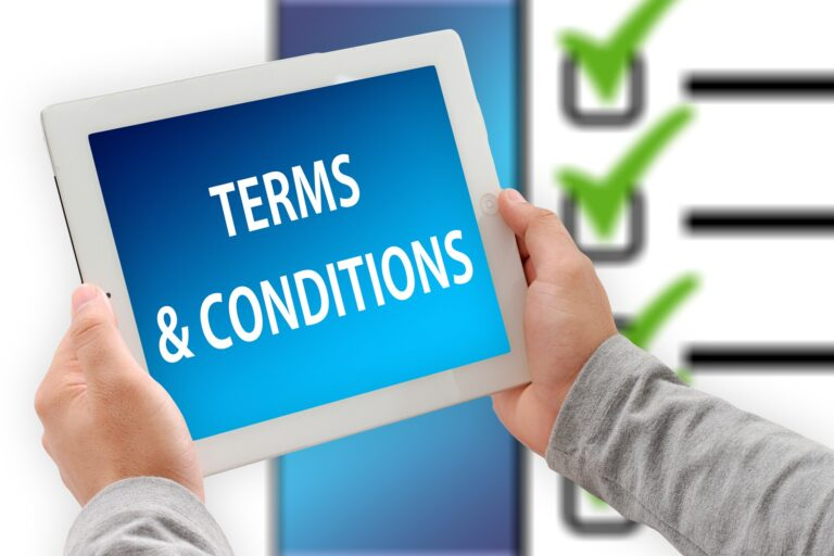 Terms and Condirions